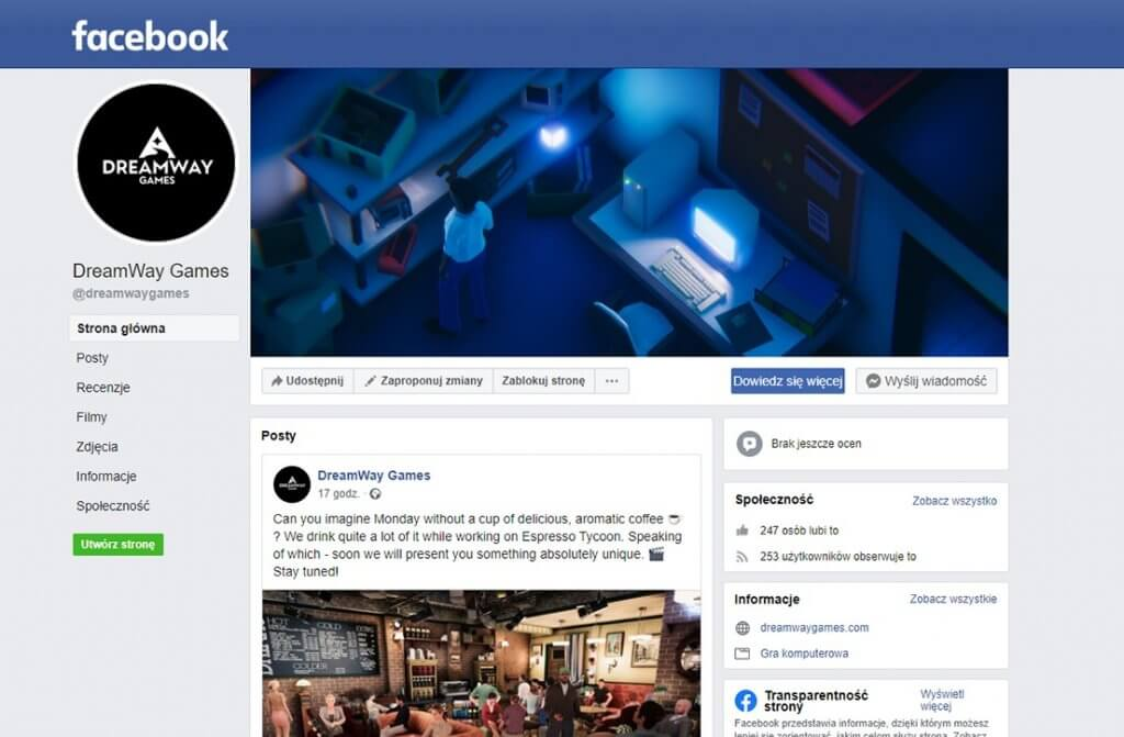 facebook dreamwaygames