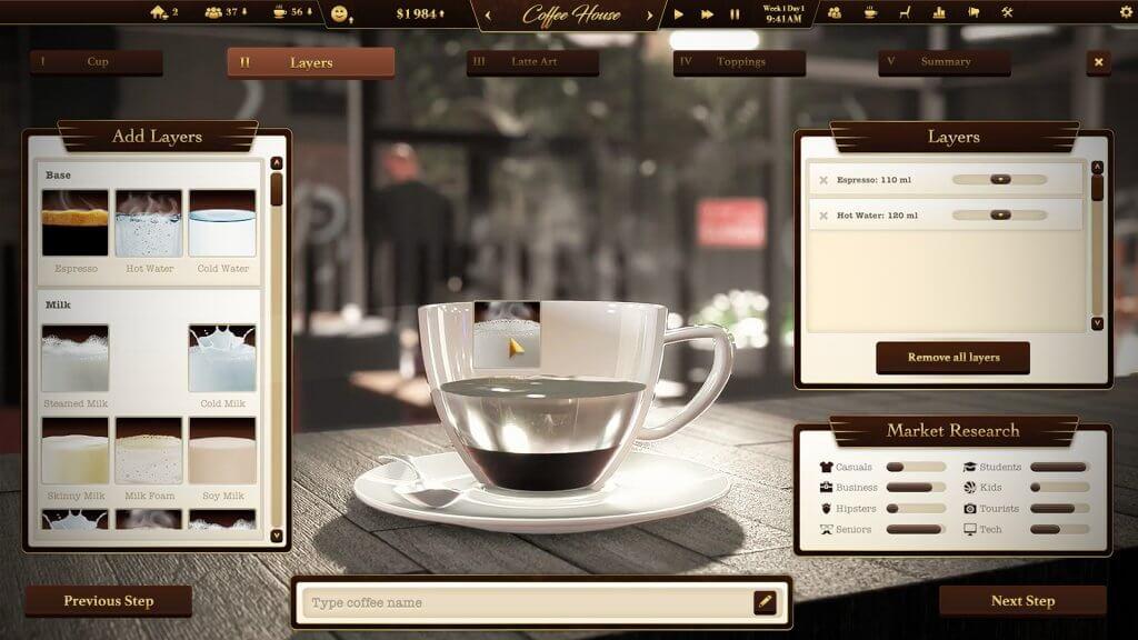 Coffee Creator